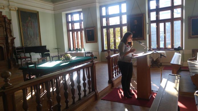 Éles Éva hollandiai tanulmányairól beszél