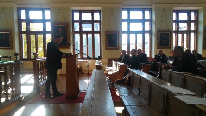 Kelemen Attila Csongor hollandiai tanulmányairól beszél