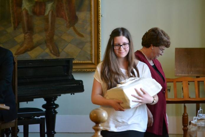 Hallgatói jutalomkönyvek átadása