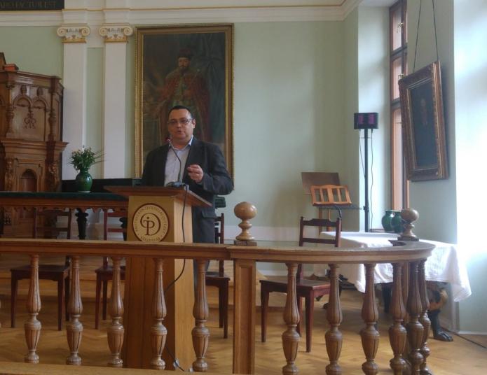 Horváth István (BBTE) előadást tart