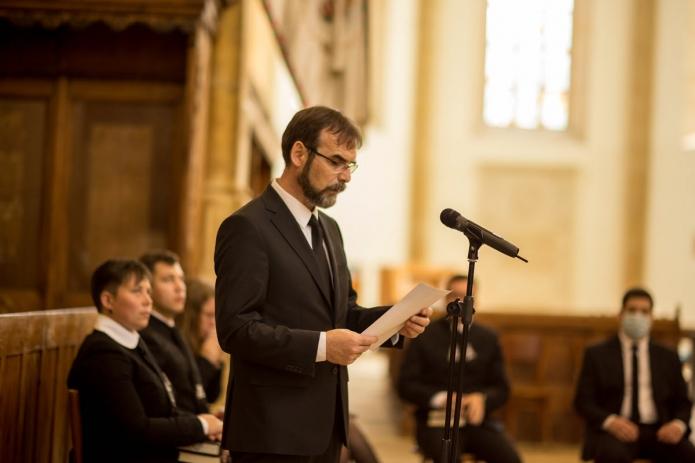 Rektor kibocsátó beszéde