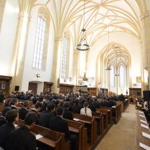 Konferencia megnyitó a Farkas utcai templomban