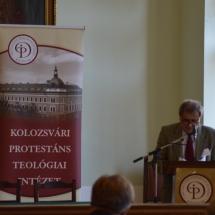 Reformáció és irodalom címmel tart előadást Balázs Mihály