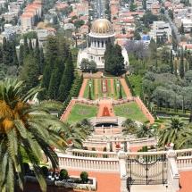 A bahá'í kertek Haifában