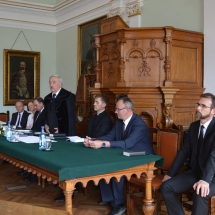 Kató Béla püspök beszéde a végzős hallgatókhoz