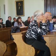 A peregrinus találkozó résztvevői