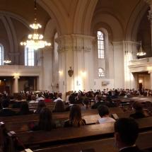 Évnyitó ünnepély az Alsóvárosi Református Templomban